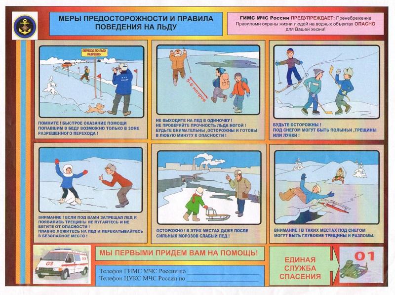 Правила на льду