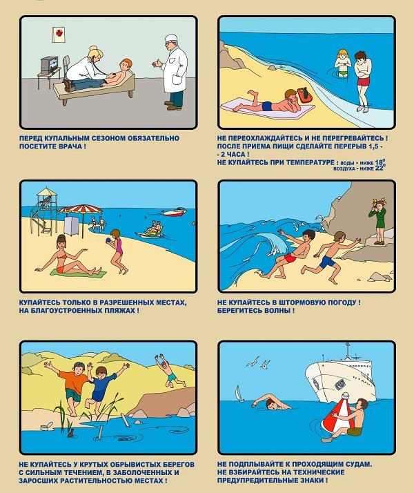 Правила на воде
