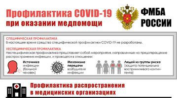 Профилактика COVID-19 при оказании медпомощи
