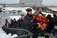 Возложение цветов к Дню защитника Отечества