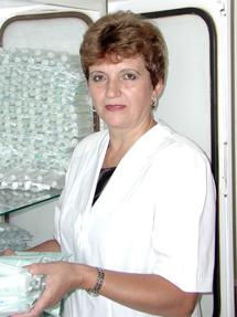 Старшая медицинская сестра хирургического отделения – Домоховская Людмила Михайловна